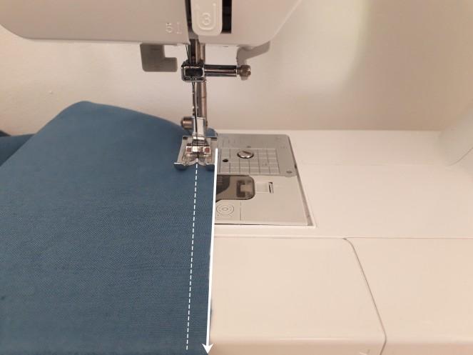 Tuto Projet couture - apprendre à coudre droit à la machine à coudre