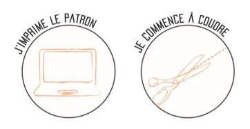 imprimer le patron pdf gratuit et le tutoriel pour coudre un attache cable et utiliser les chutes de tissu